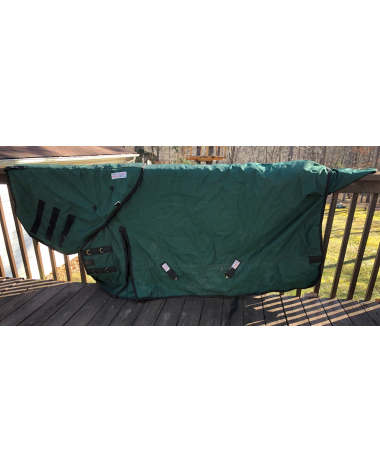 Excellent Condition Schneiders Horse Blanket With Detachable Neck Cover Heavy Weight Size 78