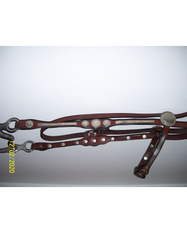 Western Show bridle w/breast plate and bit