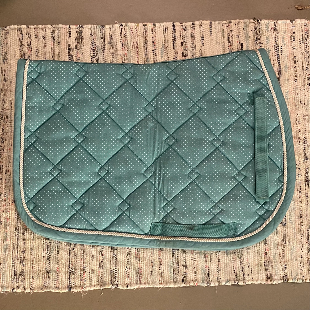 Shedrow Polka Dot Quilted Cotton Pony Pad