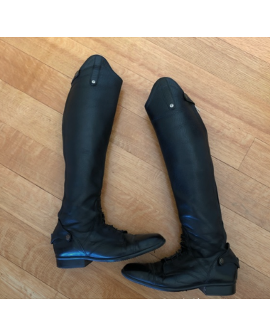 Sergio Grasso Tall Leather Riding Boots