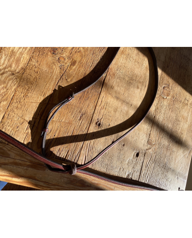 Brand New fancy stitched Vespucci Standing Martingale