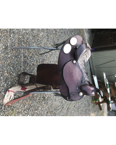 CUSTOM WESTERN SHOW SADDLE SET