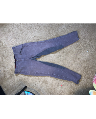 Dover Saddlery Plaid Breeches (*discontinued)