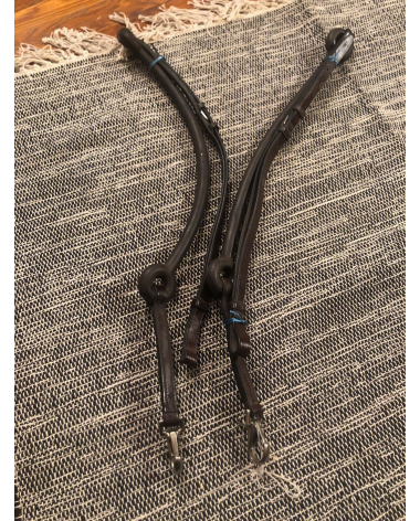 Donut Leather Side Reins (Full)