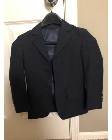 Navy blue youth L/XL show coat