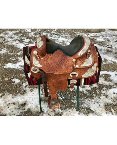 "16"" Bighorn Limited Edition Western Show Saddle"
