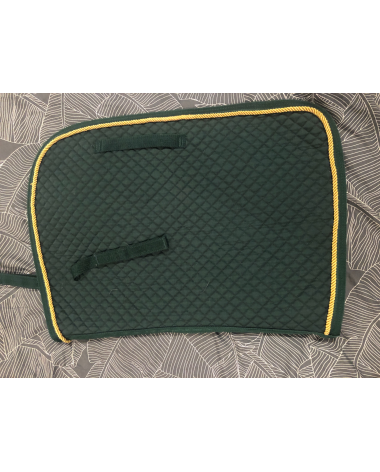 Pad Hunter Green with Gold Trim - Pony