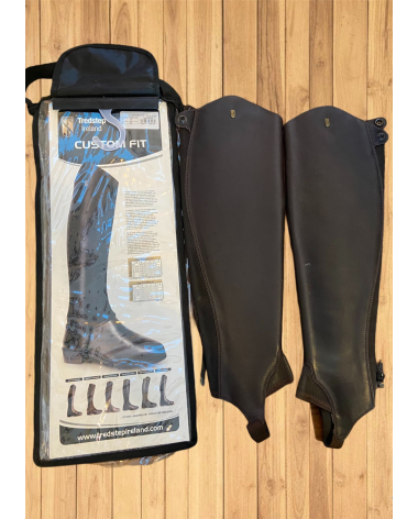 Tredstep Custom Fit Half Chaps Brown 2 pairs Different sizes