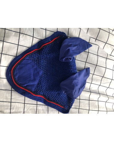BRAND NEW - Royal blue ear bonnet
