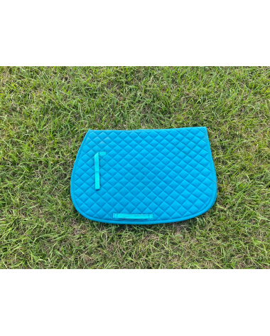 Teal Dover Saddle Pad