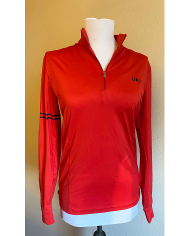 Red sunshirt by Sport Horse Lifestyle, size M