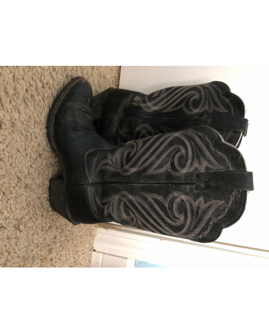Ariat Western Show Boots size 8 womens
