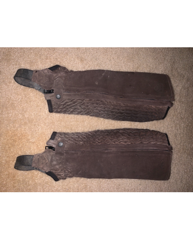 Brown small Ariat half chaps