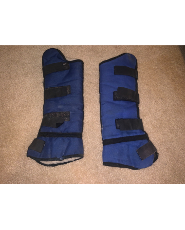 Pair of shipping boots