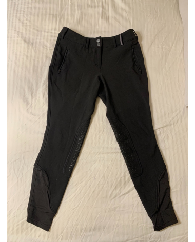 Noble Outfitters - 28R - Black Soft Shell Winter Breeches