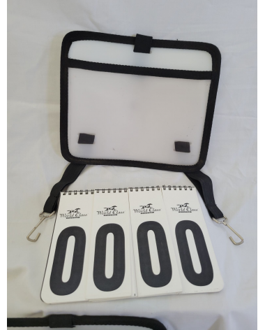 World Class spiral number pads with cases