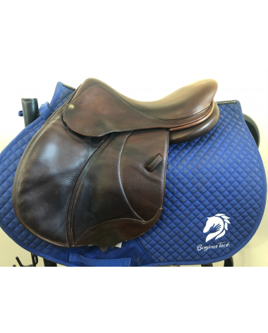 """15.5"""" Voltaire Palm Beach saddle - 2012 - 0 - 5"""" dot to dot"""