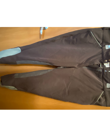 Discontinued gray Dover breeches, size 36