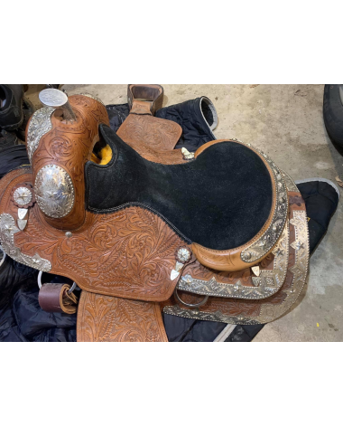 "17"" Western Pleasure Saddle"
