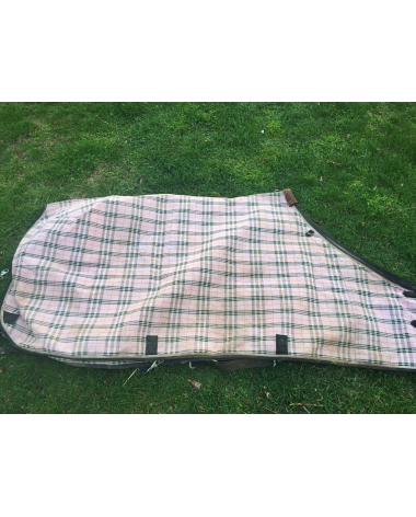 Pink Plaid Protective Fly Sheet
