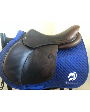 """17"""" Voltaire Palm Beach saddle - 2012 - 1A - 4.5"""" dot to dot"""