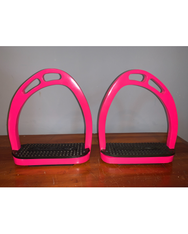 Majyk Equipe Pink Cross country stirrups