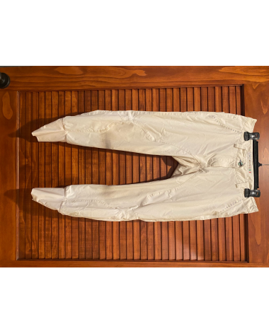SIZE I-42 white animo breeches with red and diamond design pockets