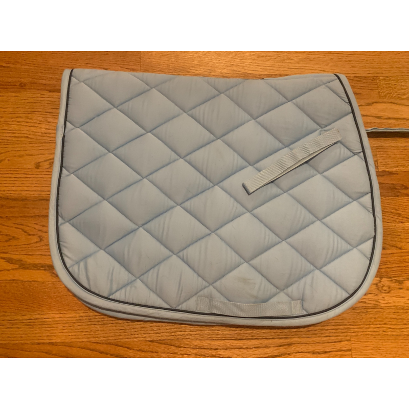 Baby blue dover all purpose saddle pad