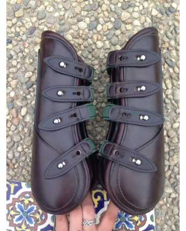 Amerigo Open Front Leather Boots