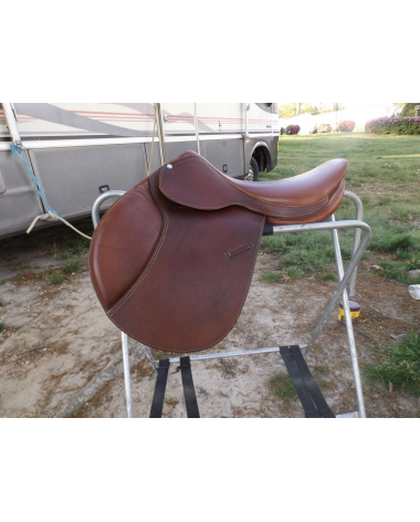 Forestier French made Saddle 17in Ridden once, Moving Sale
