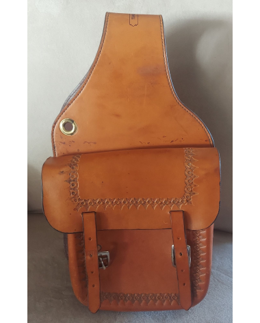 Timberline Leather Saddle Bags