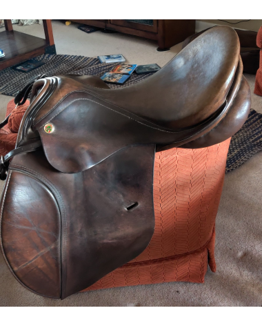 Niedersuess All Purpose 17.5inch saddle, MW gullet