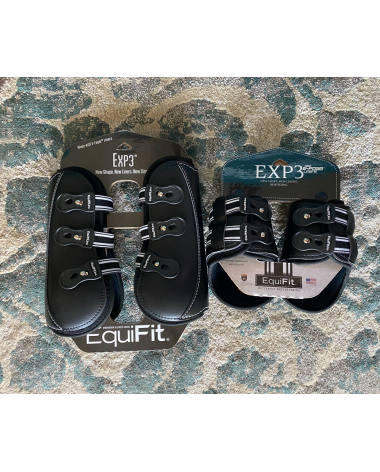 EQUIFIT EXP3 Boots XL - front and back