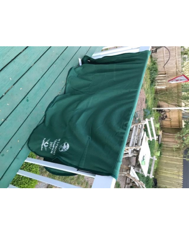 """81"""" Green Cooler with Ocala HITS embroidery"""